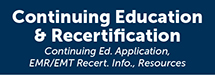 Continuing Education and Recertification