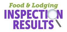 Food and Lodging Inspection Results
