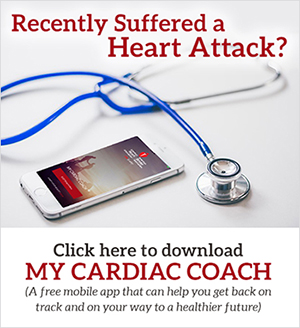 Download the My Cardiac Coach mobile app