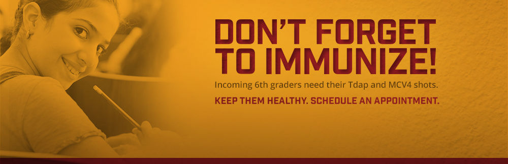 New vaccine requirements for 6th graders